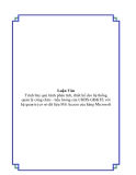 QUẢN LÝ CÔNG CHỨC - TIỀN LƯƠNG CỦA UBDS –GĐ & TE THÀNH PHỐ NHA TRANG TỈNH KHÁNH HOÀ
