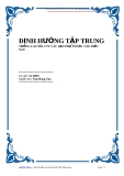 Marketing Ebook - Định hướng tập trung
