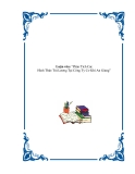 Luận văn tốt nghiệp: Phân Tích Các Hình Thức Trả Lương Tại Công Ty Cơ Khí An Giang - Đoàn Hà Hồng Nhung