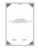 Luận văn đề tài: Phân Tích Tình Hình Lao Động Tiền Lương Và Ảnh Hưởng Của Chính Sách Lương Đến Năng Suất Lao Động