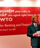 KHU VỰC NGÂN HÀNG SAU KHI GIA NHẬP WTO: KINH NGHIỆM TRUNG QUỐC VÀ THỰC TIỄN VIỆT NAM