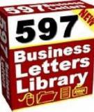 Sample Business Letters (1-100)- mẫu thư thương mại tiếng Anh