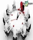 Quản lý thời gian và tiến độ dự án đổi mới