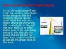 Rủi ro thanh khoản và bài học Việt Nam