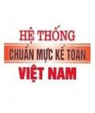 Chuẩn mực kế toán Việt Nam