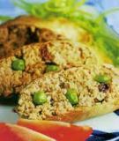 Bánh crếp cuộn cá