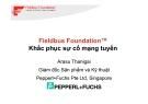 Bài giảng: Fieldbus Foundation™ Khắc phục sự cố mạng tuyến