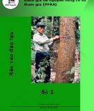 Báo cáo đào tạo đánh giá tài nguyên rừng có sự  tham gia (PFRA)