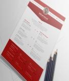 CV xin việc - Dành cho người đã có kinh nghiệm