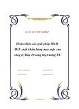 """Luận văn tốt nghiệp """"Hoàn thiện các giải pháp MAR- MIX xuất khẩu hàng may mặc của công ty May 10 sang thị trường EU"""""""