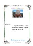 """Luận văn tốt nghiệp """"Hoạt động marketing mix của khách sạn quốc tế ASEAN"""""""