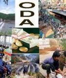 Tổng quan về nguồn vốn hỗ trợ phát triển chính thức (ODA)