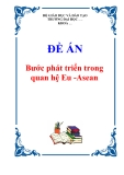 """Đề án """"Bước phát triển trong quan hệ Eu -Asean """""""