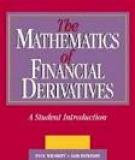 Wilmott _ Howison _ Dewynne - The Mathematics Of Fiancial Derivatives Pdf