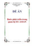 """Đề án """"Bước phát triển trong quan hệ EU-ASIAN"""""""