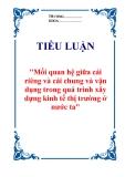 """Đề án """"Quảng cáo qua mạng ở Việt Nam hiện nay"""""""