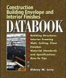 Construction Building Envelopeand Interior Finishes Databook