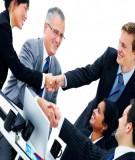 Những giá trị đề cao trong kinh doanh và kỹ năng đàm phán