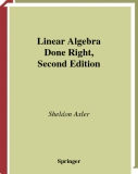 Linear Algebra Done Right_ Second Edition
