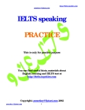 IELTS Speaking _ Practice