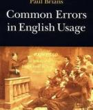 Sách Common Errors In English Usage