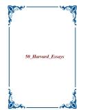 50 Harvard Essays