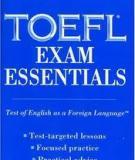 Tài liệu TOEFL Exam Essentials