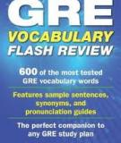 GRE Vocabulary 600