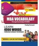 MBA Vocabulary