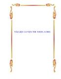 TÀI LIỆU LUYỆN THI TOEFL 8/2001