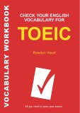 Check your vocabulary for the TOEIC