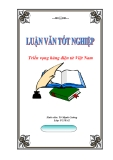 """Luận văn tốt nghiệp """"Thực trạng và triển vọng phát triển hàng điện tử Việt Nam"""""""