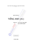 Bài giảng tiếng Anh (A1) - Học viện Công nghệ Bưu chính Viễn thông