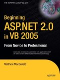Beginning ASP.NET 2.0 in VB 2005 From Novice to Professional