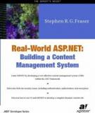 Real-World ASP.NET—Building a Content Management System