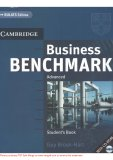 Student's Book:  Business Benchmark_Cambridge_Part 1