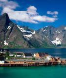 Những hòn đảo đẹp mê hồn ở Nauy