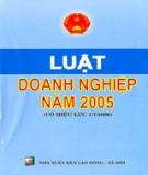 Luật số 60/2005/QH11 về Doanh nghiệp