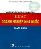 Luật Doanh nghiệp nhà nước số 14/2003/QH11