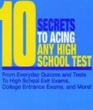 10  secrets to acing any high school test
