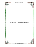 E.TOEFL Grammar Review