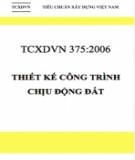 Tiêu chuẩn xây dựng Việt Nam TCXDVN 375:2006