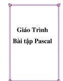 Giáo trình bài tập Pascal