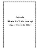 Luận văn - Kế toán TSCĐ hữu hình   tại Công ty Truyền tải Điện 1