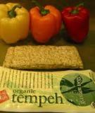 Qui trình sản xuất tempeh