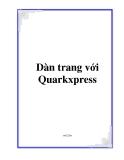 Dàn trang với Quarkxpress