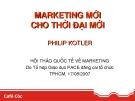 Marketing cho thời đại mới - Philip Kotler