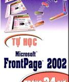 Thiết kế Website từ frontpage 2002