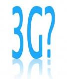 Nâng cấp công nghệ trong họ GSM lên 3G