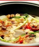 Hướng dẫn cách nấu ăn cải thiện bữa ăn cho gia đình bạn